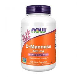D-Manosa 500mg - 120 Cápsulas vegetales