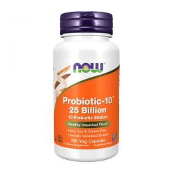 Probiotic-10 25 Billion - 100 Cápsulas vegetales