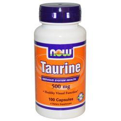 Taurina 500 mg - 100 Cápsulas