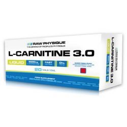 L-Carnitina 3.0 - 20 viales [Raw Physique]
