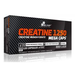 Creatina 1250 - 120 Mega cápsulas