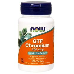Cromo FTG 200mcg - 100 tabletas [Now Foods]
