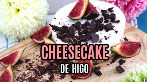 CHEESECAKE DE HIGO