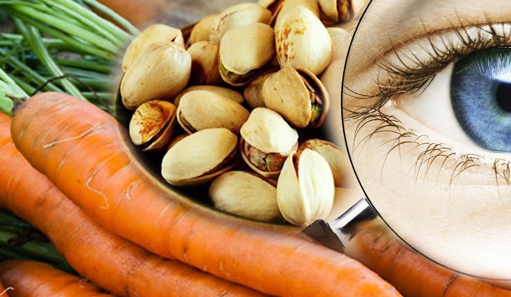 Pistachos y Zanahorias