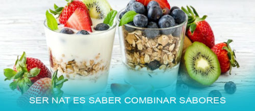 Yogurt con frutas