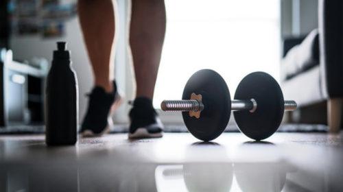 Encuentra la motivación para entrenar en casa