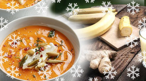 Los alimentos que pueden mantenernos calientes