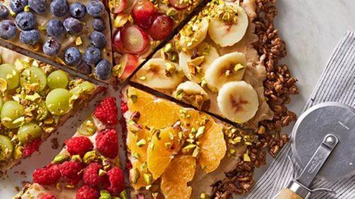 Disfruta una deliciosa y saludable pizza de frutas