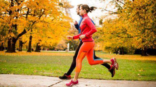 Los beneficios de hacer ejercicio en otoño